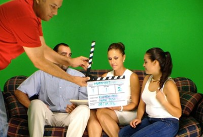Making of THE GREENSCREEN