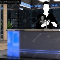 News Studio On Air
