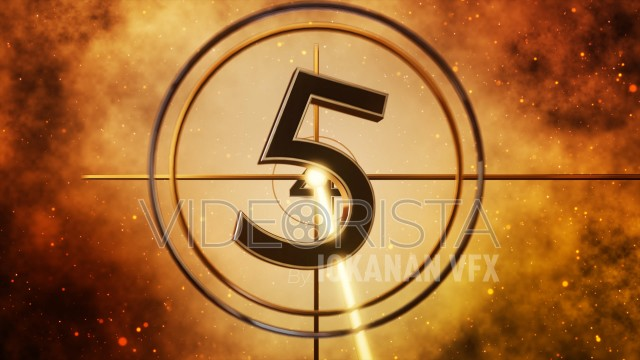 Universal Leader Countdown Gold Version - IMAX Style