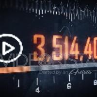 Pixel Youtube views animation