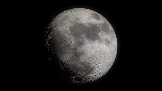The Moon seen from Earth
