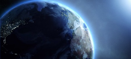 Real Earth rotation from outer space