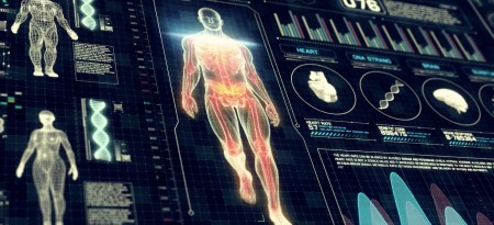 Medical scan touch interface